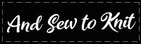 And Sew To Knit Logo
