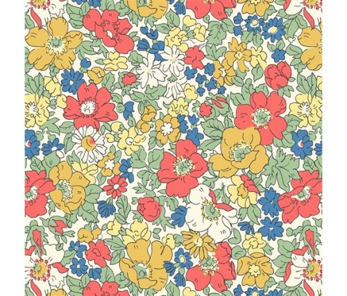 Liberty of London Cottage Garden Cosmos Meadow Flowers Fabric LF04775611Z