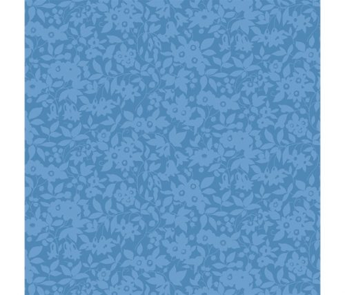 Liberty of London Cottage Garden Daisy Shadow Blue Fabric LF04775613Z