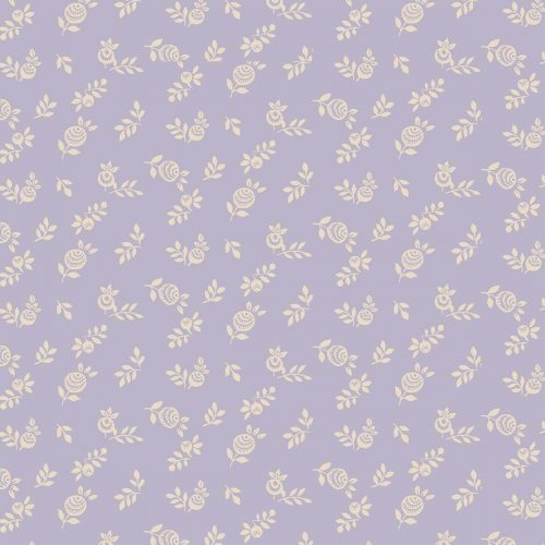 Liberty of London English Garden English Berry Lilac Fabric LF04775605Y
