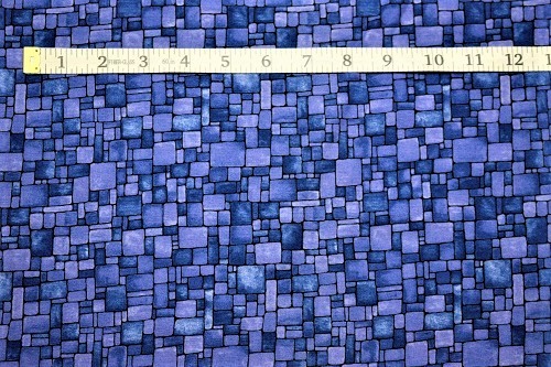 Fabric Freedom Light Fantastic Mosaic Blue Fabric FA2-008