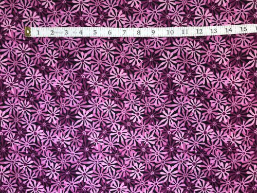 Fabric Freedom Twilight Garden Tiger Lilac Fabric FA2-016