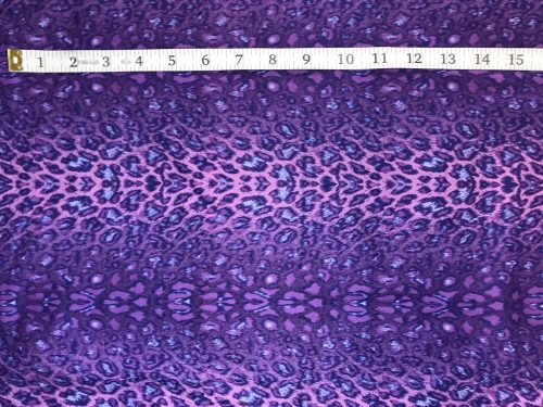 Fabric Freedom Twilight Garden Tiger Purple Fabric FA2-019