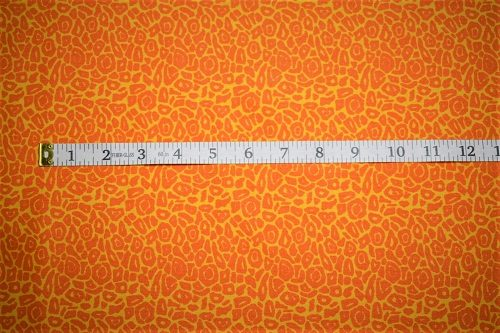 RJR Fabrics Dan Morris Sew Catty Orange Fabric FA3-019