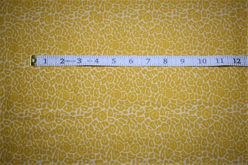 RJR Fabrics Dan Morris Sew Catty Yellow Fabric FA3-020
