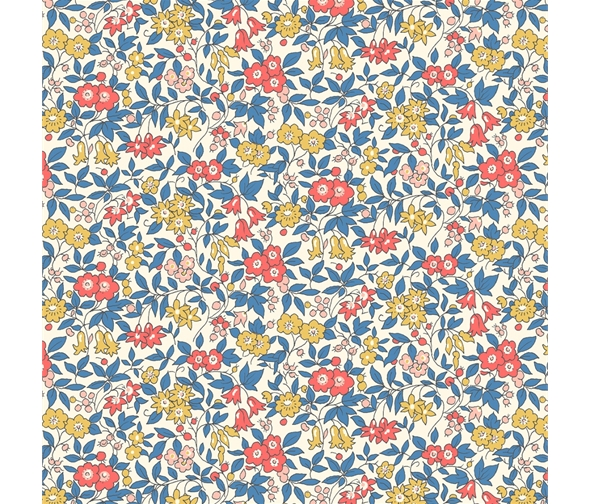 Liberty of London Cottage Garden Forget-Me-Not Flowers Fabric LF04775612X