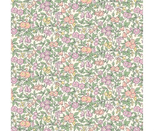 Liberty of London Cottage Garden Forget-Me-Not Flowers Cotton Fabric LF04775612Y