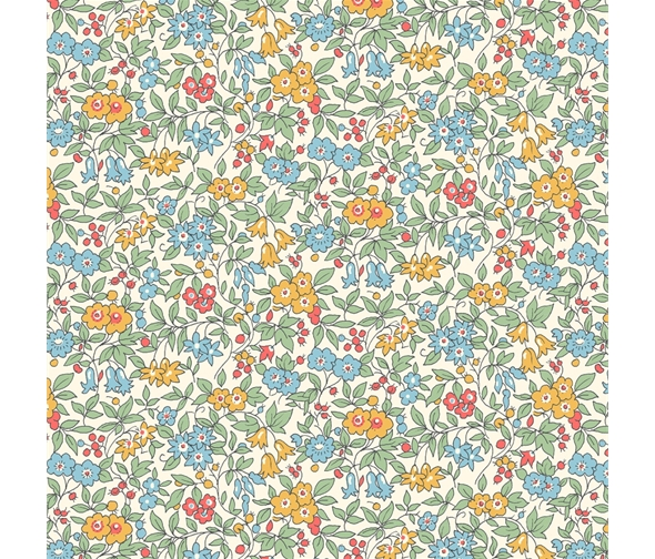 Liberty of London Cottage Garden Forget-Me-Not Flowers Fabric LF04775612Z