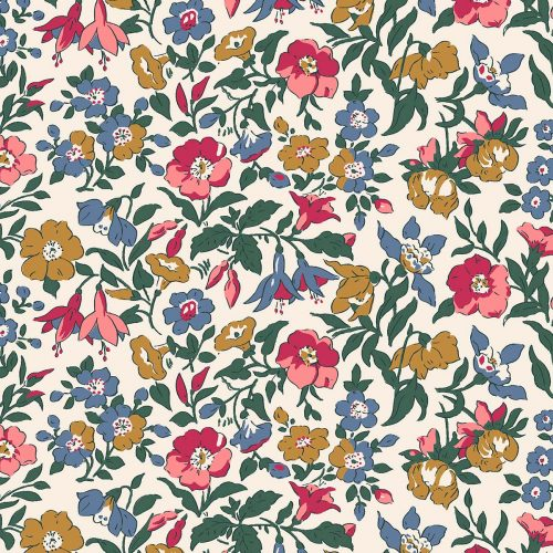 Liberty of London English Garden Mamie Flowers Fabric LF04775601X