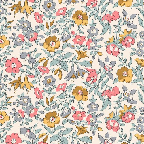 Liberty of London English Garden Mamie Flowers Fabric LF04775601Y