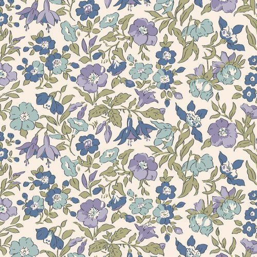 Liberty of London English Garden Mamie Flowers Fabric LF04775601Z