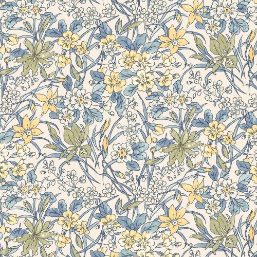 Liberty of London English Garden Ricardo Flowers Fabric LF04775606Y